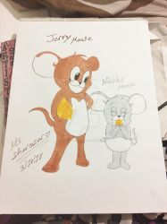 Jerry and nibbles by Ms-Sharazar