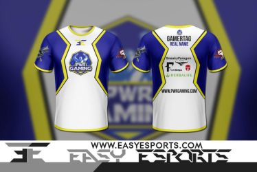 PWR Gaming [Esport Apparel Design] by SoberDreams