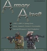 Armory Airsoft Ad Campaign by XianMu