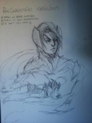 pen challenge sketch- Schrade by Lilith-the-5th