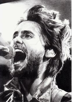 jared leto by ksiyha
