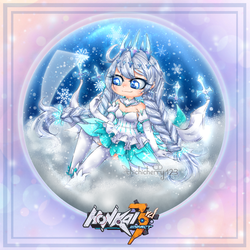 Winter Princess - Snow Glass ball Contest by chichicherry123