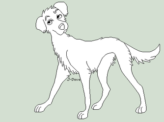 Tall Terrier by J-Dove