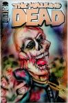 The Walking Dead Comic Cover Painting by BiancaThompson