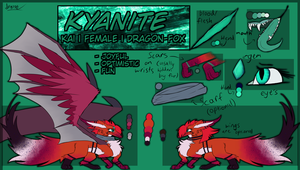 Kyanite ref. [OUTDATED] by CrystalSkys109