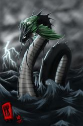Storm Serpent by Reabault