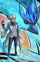Blanche - Team Mystic by ComplexWish