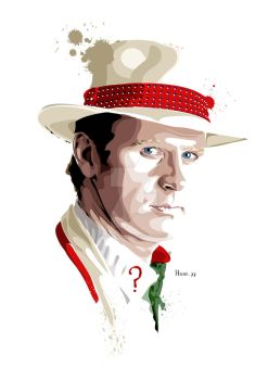 The Fifth Doctor Who by hansbrown-77
