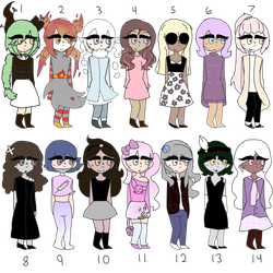 Free Adopts (CLOSED) by Candiyees
