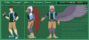 Philip ''Pheagle'' Adler- Braviary Form: Reference