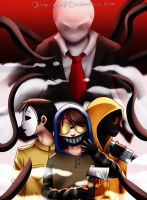 Creepypasta proxies by Dane-elle