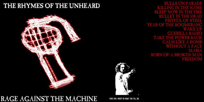 Rhymes of the Unheard -entry3 by ratm-club