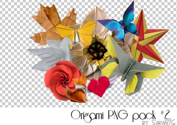 Origami PNG Pack #2 by Sara876