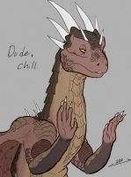 Draco says Chill by Mr-Stot