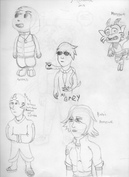 Sketches by nega108