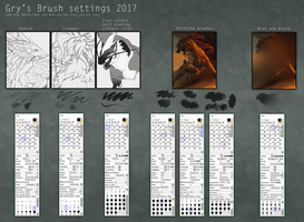 Gry's updated brush settings by Grypwolf