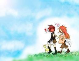 TotA - Asch and Luke by CherryBlossoms24