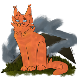 Flametail by hissisipi