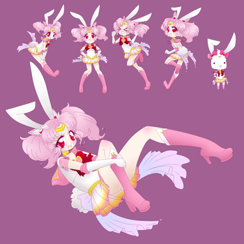 Chibi Moon Bunny Done by HotokoTenshi