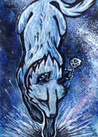 aceo for whitespiritwolf by kailavmp