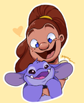 Snooty and Victoria by AngoraRam