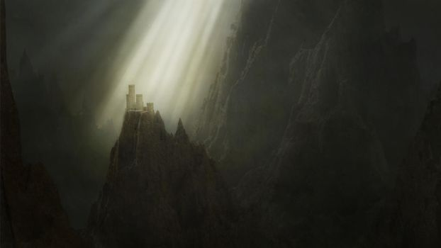 The castle by Tellurian84