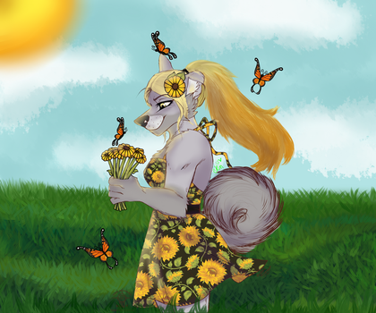 Lemon - Tranquil Field by Lupus-Daemon