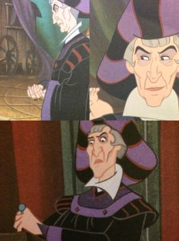 The many faces of Frollo - Golden book HoND by ljaylue
