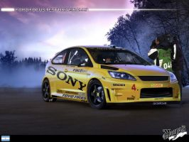 _Ford Focus Test Drive Rally_ by magnanimus