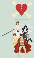 The Loveless Pirates by sugusdelima