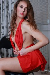 Jana in red dress 42 by PhotographyThomasKru