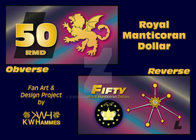 50 Royal Manticoran Dollar bill - Fan Art by kwhammes