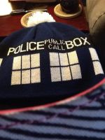 Doctor Who Hat :D by ZeldaDairylover54