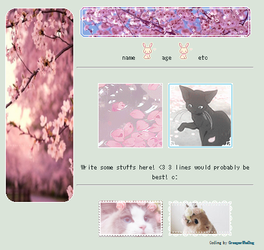 Cherry Blossom F2U non-core custom box by CreeperTheDog