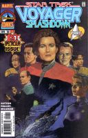 Star Trek Voyager Comic Cover by ssava