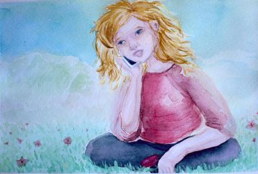 SPRING! - watercolor illustration by potworow