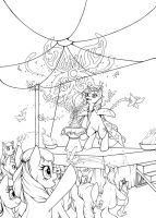 Commission - For the Love of the Stage by Longinius-II