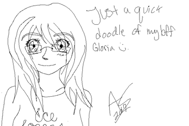 Another quick doodle by AngeluskittyII