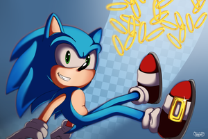 Sonic Ring Adventure by Oggynka