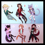 .: CHECK OUT THESE ADOPTS :. by The-Voice-of-Time