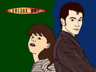 The Doctor and Elizina by David-Tennant-Fans