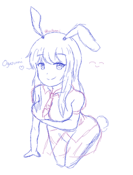 Reisen Sketch (without color) by cosmic-aulkami