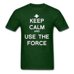 Yoda Keep Calm Use The Force by Enlightenup23