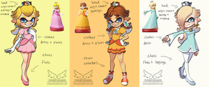 Amiibo Inkling Concepts Part 3 (9 30 2017) by theskywaker