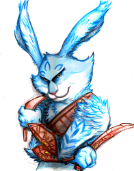 Bunnymund by lamp0s