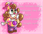 Dee Dee // fnaf AU  character by Summer-Trap