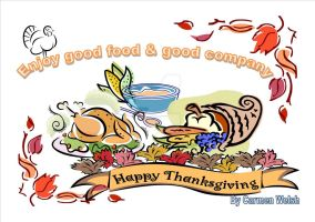 Thanksgiving ECARD by CopperSphinx