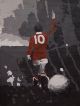 Denis Law by ElephantStoned
