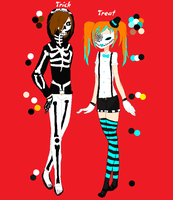 CREEPYPASTA OC'S: Trick and Treat by Shipping-War-Leaders