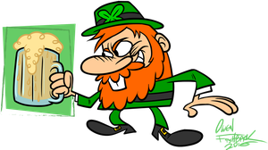 It's That Leprechaun A-Flippin'-gain by Lotusbandicoot